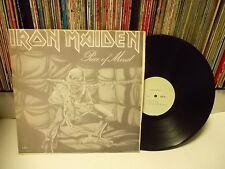 IRON MAIDEN - Piece of Mind KOREA LP Grey Cvr