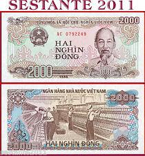 VIETNAM VIET NAM - 2.000 2000 DONG 1988 Small Serial Digits - P 107a - FDS / UNC