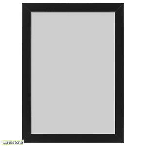 IKEA FISKBO Bilderrahmen Fotorahmen - Frame Schwarz 21x30 cm DIN A4