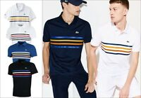 LACOSTE SPORT MENS POLO SHIRT BNWT - ALL SIZES - ULTRA DRY - DH3138