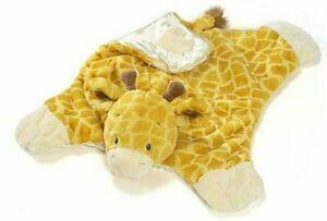 BABY GUND plush boutique comfy cozy TUCKER giraffe NWT mat blankie toy large
