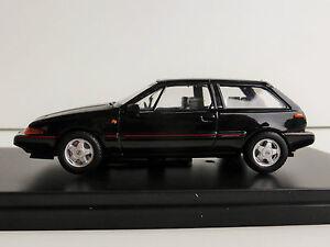 Volvo 480 Turbo 1987 BLACK 1/43 IXO PremiumX PRD437 LIMITED EDITION PRD 437
