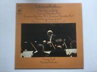 Beethoven Vinyl LP George Szell Overtüre zu Fidelio Leonoren Overtüre 1-3