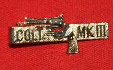 COLT Firearms Factory MKIII Trooper / Lawman Tie Bar Mint
