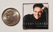 "Dollhouse Miniature Record Album 1"" 1/12 Barbie Donny Osmond the Moment"
