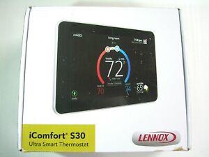 Lennox 19V30 iComfort S30 Programable WiFi Touchscreen Smart Thermostat - New