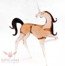 "Glass Unicorn ""murano"" figurine handmade"