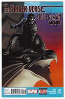 EDGE OF SPIDER-VERSE #1 Spider-Man Noir 2014  VARIANT 2ND PRINT
