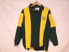 Green Bay Packers VTG long sleeve rugby style shirt / men L / norm use / b11
