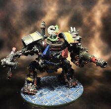 Warhammer 40k Ork Mega Dread Forgeworld Well Painted