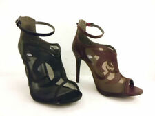 Stiletto Buckle Synthetic Shoes for Women
