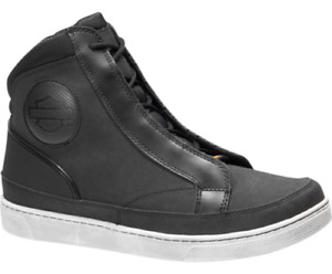 Mens Harley Davidson Waterproof Riding High Tops Trainers Boots Sizes Uk 6 40