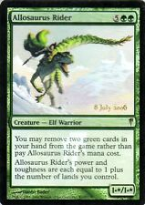 MTG MAGIC PROMO Allosaurus Rider - Cavalca Allosauro ENG FOIL WIZARDS