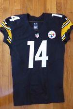 2015 Sammie Coates Game Used Worn Pittsburgh Steelers Nike Football Jersey NFL