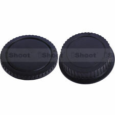 New Style Body Cover + Rear Cap for Canon EOS Digital DSLR Camera & EF EF-S Lens