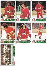 Lot (19) 77-78 Topps Hockey Atlanta Flames Cards Bouchard Lysiak
