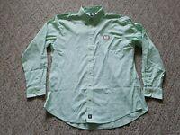 EUC Footjoy FJ Men's Button Down Golf Shirt PGA Embroidered Color Green Size XL