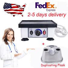 USA Dental Lab Square Vibrator vibrating Oscillator equipment Duplicating Flasks