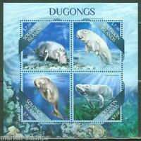SOLOMON ISLANDS  2013 DUGONGS SHEET MINT NH