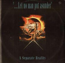 "A SEPARATE REALITY let no man put asunder HARD T 1 hard disks 12"" PS VG/EX"