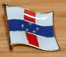 NETHERLANDS ANTILLES Country Flag Metal Lapel Pin Badge