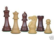 "House of Chess Imperial design Staunton chess set Rosewood / Boxwood 4"" +2 Queen"