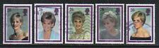 Great Britain 1998 Princess Diana (1791-95) fine used
