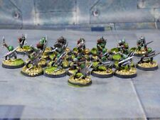 Games Workshop Lord of the Rings Moria Goblins Swords x25 - Painted LOTR (Y400)