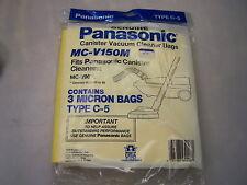 Original Panasonic vac bags type C-5