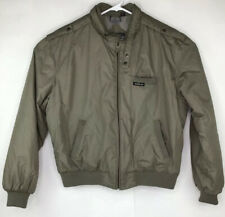 Vintage Members Only Jacket Quilted Lining Size 46 Brown