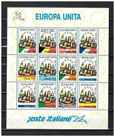 s30807) ITALIA MNH** 1993 Europa Unita s/s