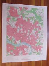 Richmond Virginia 1966 Original Vintage USGS Topo Map