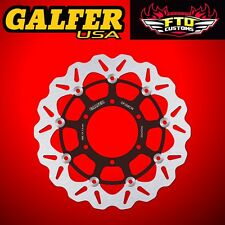 Galfer Front Floating Wave Rotor for 2009-2015 Suzuki GSXR 1000