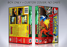 POKEMON STADIUM. ENGLISH. Box/Case. Nintendo 64. BOX + COVER. (NO GAME).