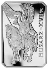 "POLISH COINS,10 zł"" HUSARZ"", HISTORY OF POLISH CAVALRY. grading PR- 70,1983 r."