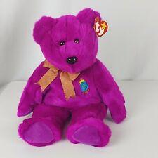 Ty Beanie Buddies Bear Millenium