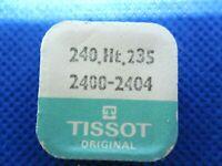 TISSOT ORIGINAL Cal 2400-2404 Chaussée Minutenrohr Cannon pinion 240.Ht.235 NOS