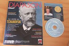 Revue Diapason N°598 - Tchaikovsky - Mullova Jurinac Figueras Pahud...Revue + CD