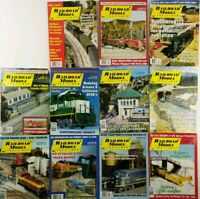 (Lot of 11) 1998 Railroad Model Craftsman Magazines Missing January