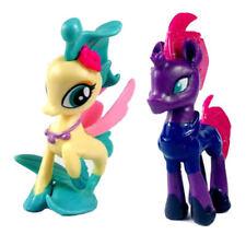 2PCS My Little Pony Tempest Shadow & Princess Skystar MLP Figure cute baby doll