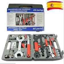 Maleta Kit de 44 pc herramientas para reparación de bicicleta bici MTB