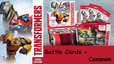Transformers Wave 1 Common Battle Cards Pick from drop down box