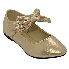 Lucita FU-80 Girls' Champagne Dress Pageant Evening & Party Shoes Youth size 3