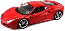 2015 Ferrari 488 GTB rojo Bburago 16008r