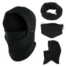Thermal Fleece Balaclava Hood Mask Police Swat Ski Bike Snow Sport Neck Warmer