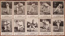 1954 Cleveland Browns Carling Black Label SET Chuck Noll RC Otto Graham Groza