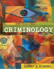 Criminology (with CD-ROM and InfoTrac) (Available Titles CengageNOW), Siegel, La