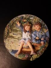 Sandra Kuck Patience Sculpted Heirlooms Third Issue collectible plate no. A224