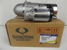 GENUINE SSANGYONG KORANDO SUV 2.9L TURBO DIESEL ALL MODEL STARTER ASSY