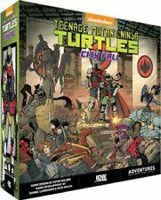 Teenage Mutant Ninja Turtles Adventures City Fall Board Game TMNT IDW
